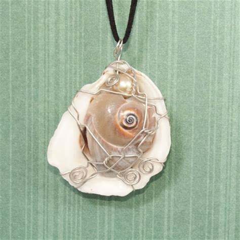 how to make jewelry with seashells seashell pendants jewelry journal