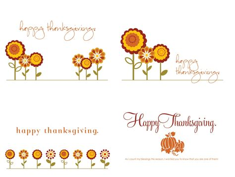 Free Thanksgiving Templates For Greeting Cards by Font Free Thanksgiving Cards Ashlee Proffitt