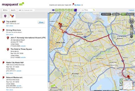 map guest mapquest rolls out new look