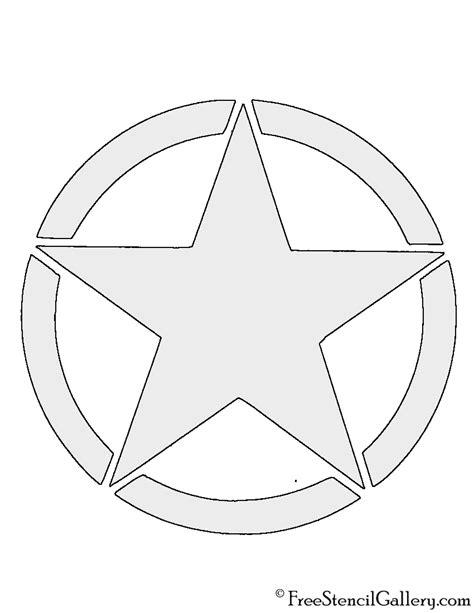 army pattern stencil primitive star stencil printable primitive star template