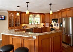 Cherry Kitchen Cabinets With Granite Countertops New Kitchen Remodel With Cherry Cabinets And Granite Countertops Yelp