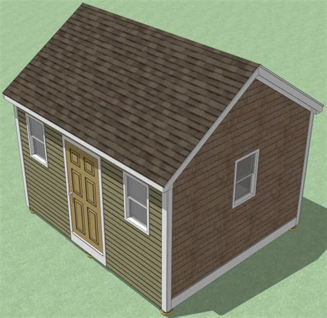 Shed Building Guide by 12x14 Shed Plans How To Build Guide Step By Step