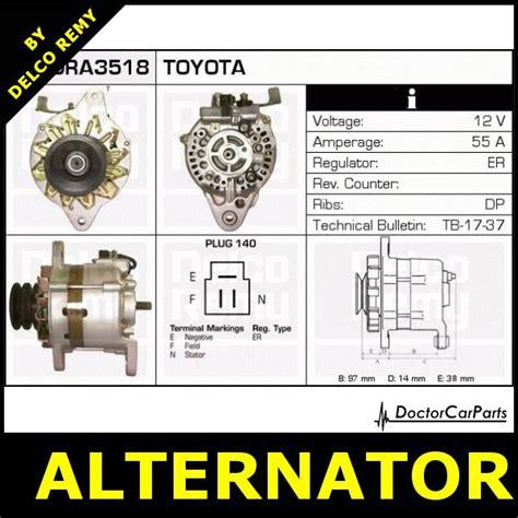 alternator vw taro toyota hilux dra3518