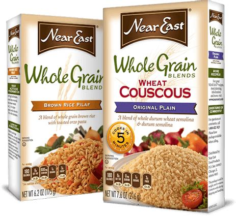 whole grain 5 blend rice near east whole grain blend wheat couscous