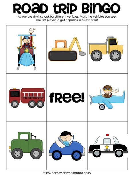 printable road trip games for preschoolers 17 best images about mathworksheets on pinterest