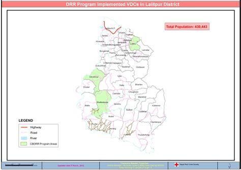 map of lalitpur nepal nepal map lalitpur
