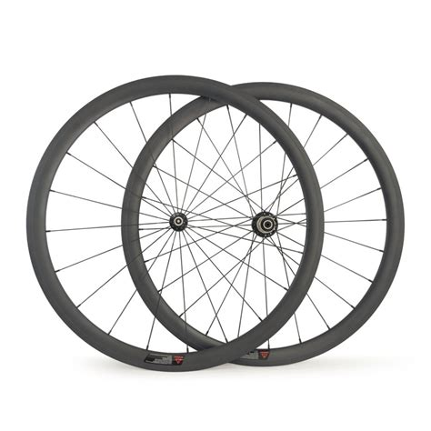 light bicycle carbon wheels 700c ultra light carbon wheels 38mm clincher 23mm wide