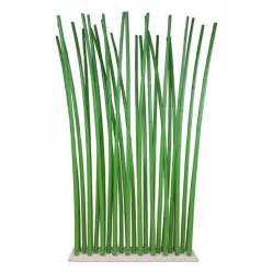 Bamboo Room Divider Green Bamboo Room Divider On White Steel Base Plate 100 X 180 Cm