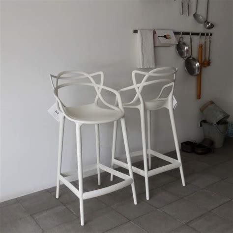 kartell sgabelli cucina kartell coppia sgabelli masters stool per a