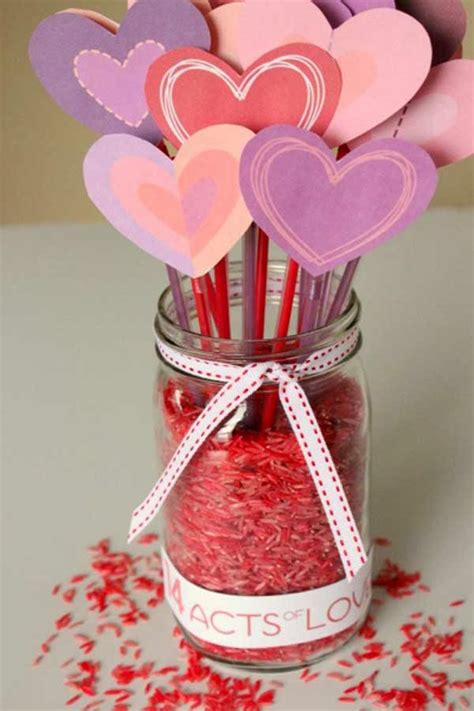 valentines craft ideas 50 creative day crafts for