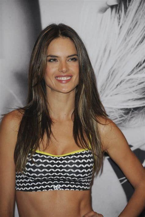 Alessandra Ambrosio Promotes Something Or Another by Alessandra Ambrosio Promotes The Vs Sports Bra Fooyoh