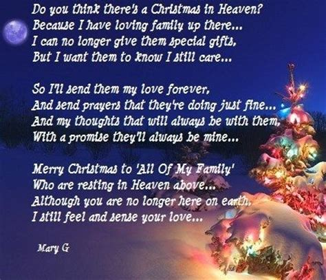christmas sayings  lost loved  christmas  heaven inspirational poems  quotes