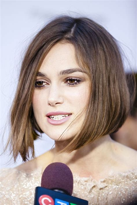 Keira Knightley's Hairstyles & Hair Colors   Steal Her Style
