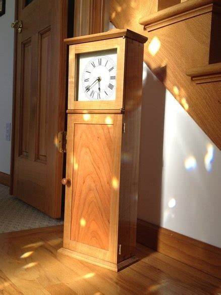 grandfather clock woodworking plans shaker grandfather clock plans woodworking projects plans