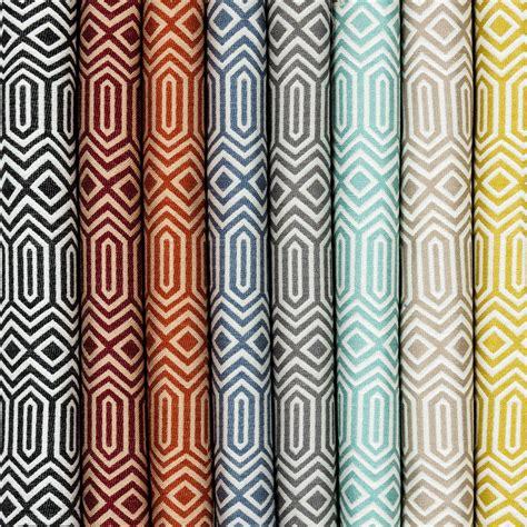 geometric pattern material uk colorado geometric fabric by metre sles woven