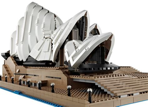 lego sydney opera house the new sydney opera house lego set 3 000 pieces 3 years in the making wired