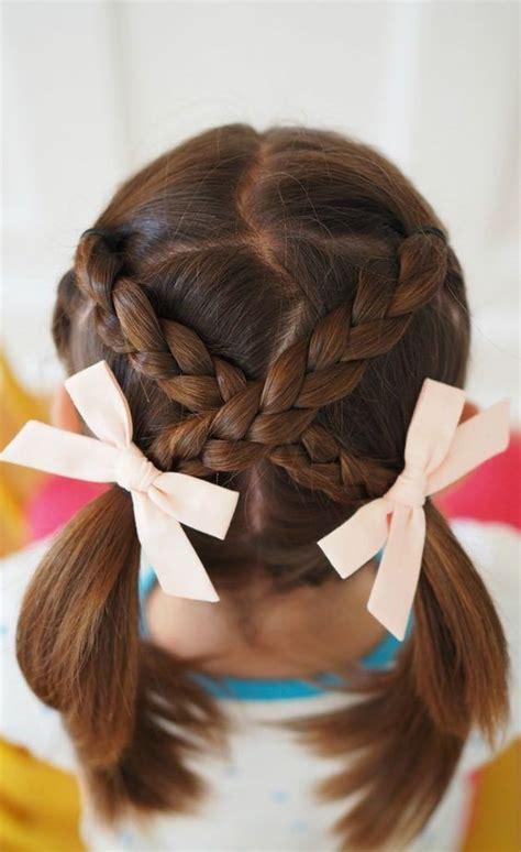 cute braided hairstyles   girls