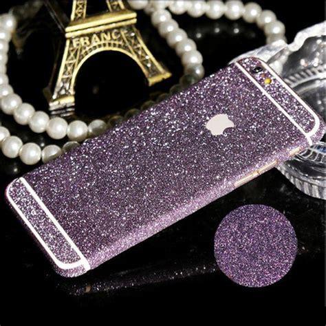 Glitter Sticker Iphone Se 4 4s 5 5s 6 6s 6 Grandprime J5 wrap decal vinyl glitter sticker skin cover for