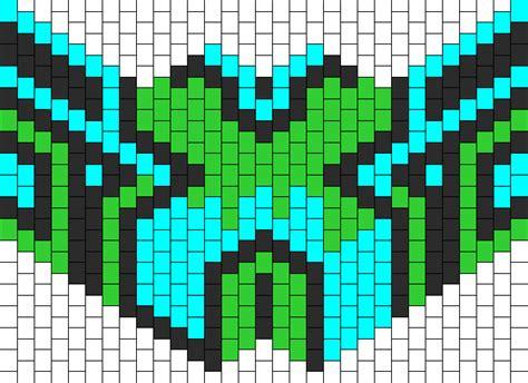 kandi mask pattern with numbers mask 1 bead pattern peyote bead patterns misc bead