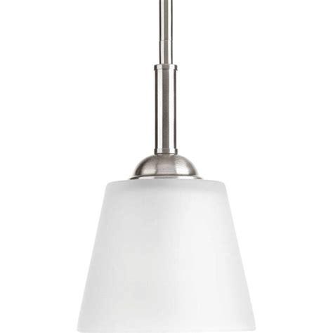 Progress Lighting Arden Collection 1 Light Brushed Nickel Brushed Nickel Mini Pendant Light
