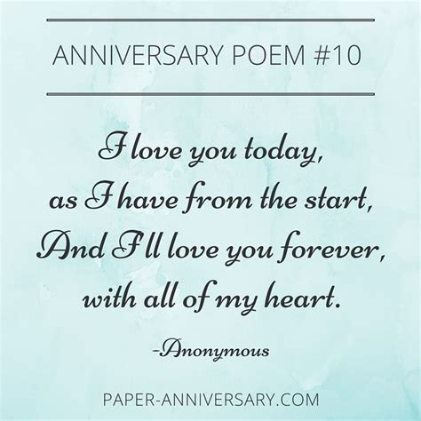 10 EPIC Anniversary Poems for Him   Anniversary poems and Poem