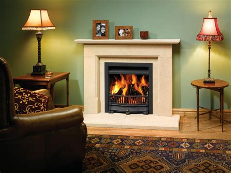 Traditional Open Fireplaces riva traditional wood burning open convector fires