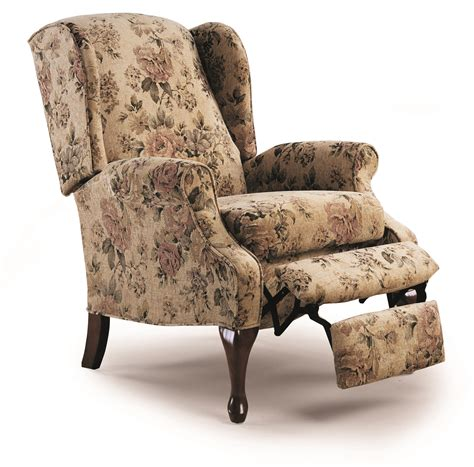 Reclining Wing Back Chairs by Hton Hi Leg Recliner 2581