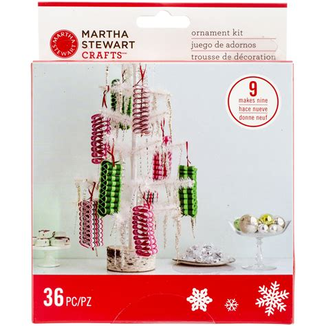 martha stewart merry bright ribbon ornaments food