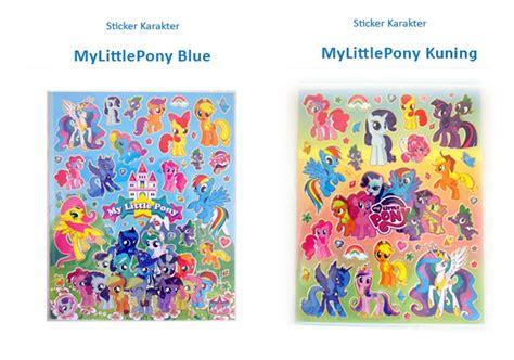 Lemari Plastik Rainbow jual sticker my pony stiker pinkie pie rainbow