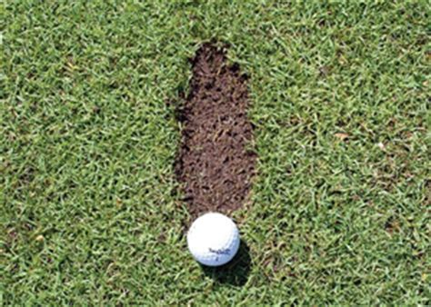 golf swing no divot tom gorman should divots be considered ground under