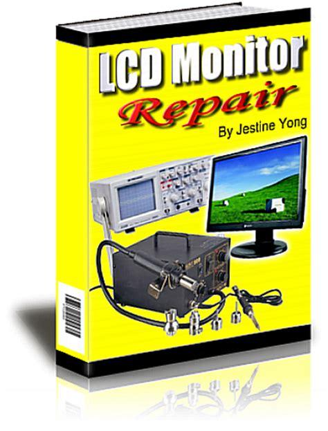 mend books home lcd monitor repair