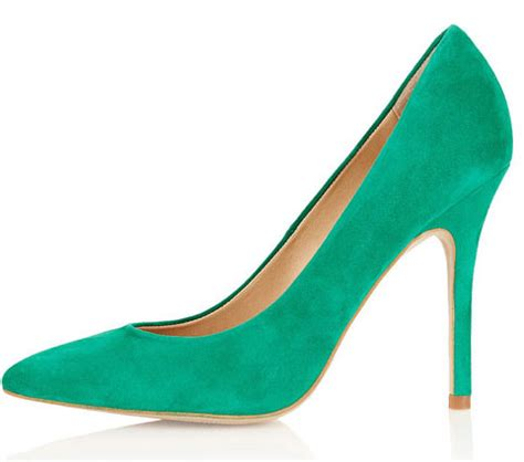 Green Shoes by Topshop Shoes And Green Pointed Toe Pumps