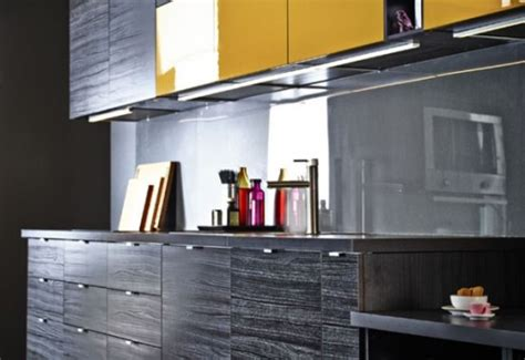 black and yellow kitchen stunning black kitchen design with yellow touches digsdigs