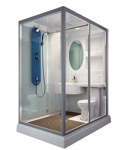 prefabricated bathrooms in stock sunzoom one piece bathroom modular shower room portable shower unit buy