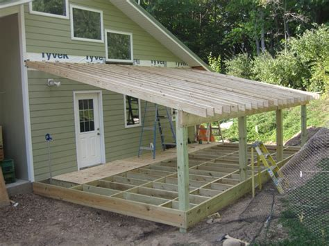 roof attached to side of house brainright shed addition