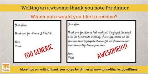 appropriate time to send thank you notes for wedding gifts write an awesome thank you note for dinner
