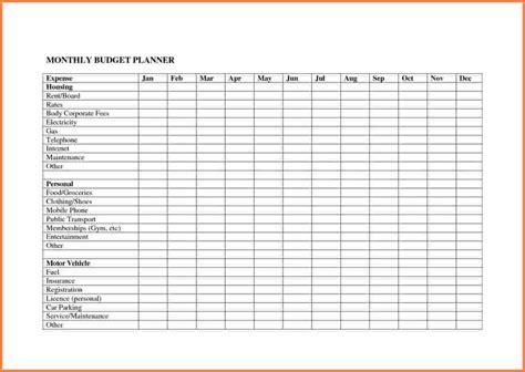 bill budget template 4 bill spreadsheet template excel spreadsheets