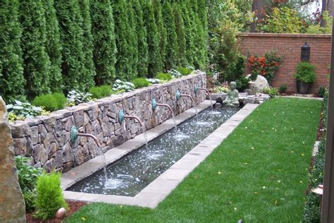 water features for backyard relax with a backyard water feature