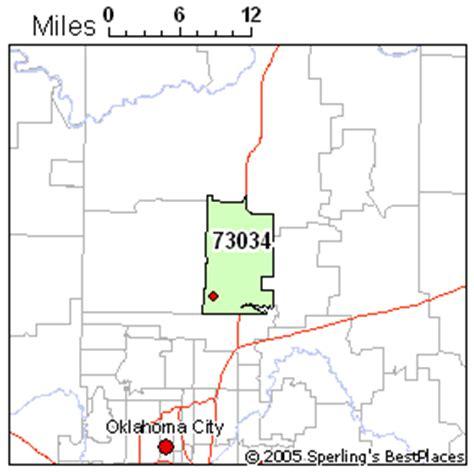 zip code map edmond ok best place to live in edmond zip 73034 oklahoma