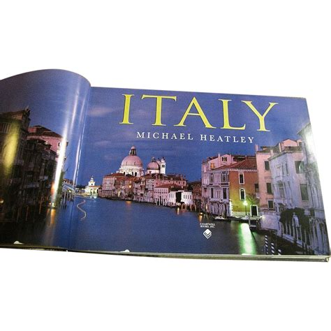 italy by david lyons and michael heatley coffee table