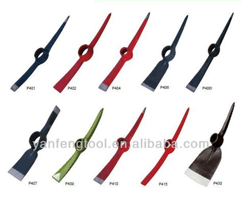 types of garden tools different kinds of gardening tools pickaxe types p402