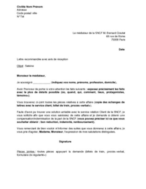 Exemple Lettre De Motivation Sncf Modele Cv Sncf Cv Anonyme