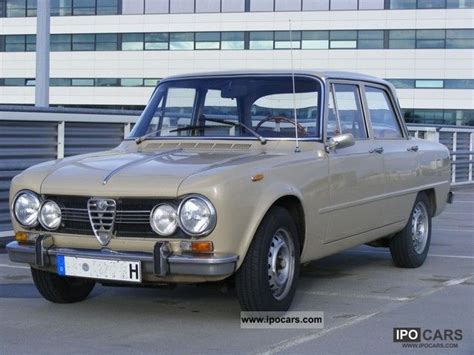 vintage alfa romeo giulia limousine vehicles with pictures page 37