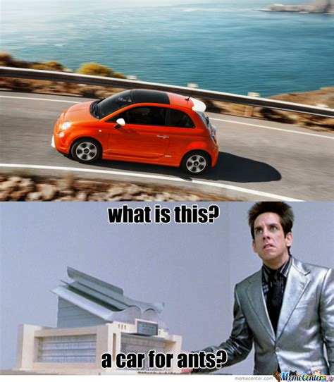 Fiat 500 Meme - everytime i see a fiat i think of this by recyclebin