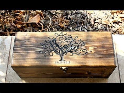 Wedding Wine Box Time Capsule by Personalized Wine Bottle Box Wedding Wine Box Wedding Gift