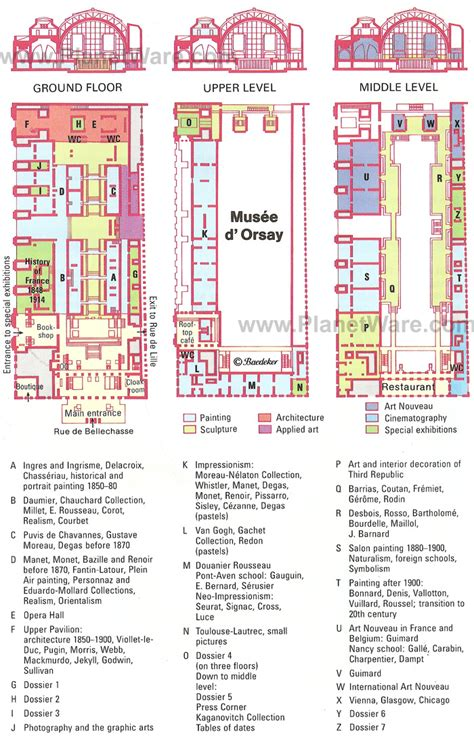 musee d orsay floor plan musee d orsay floor plan thefloors co
