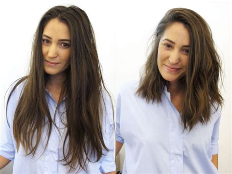 haircut before and after pics see before after hairstyles from the lounge soho