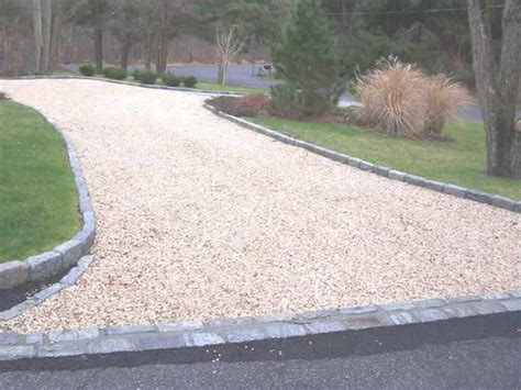 Grey Gravel Driveway Driveway Edgers Driveway 3 8 Quot Jersey Gold Gravel