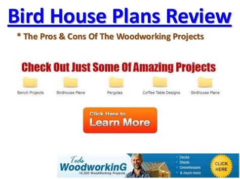 woodworking plans review woodworking plans review best bird house plans