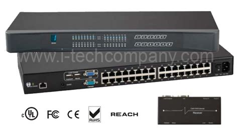 remote desktop console remote desktop console 16 ports cat5 kvm with cat5